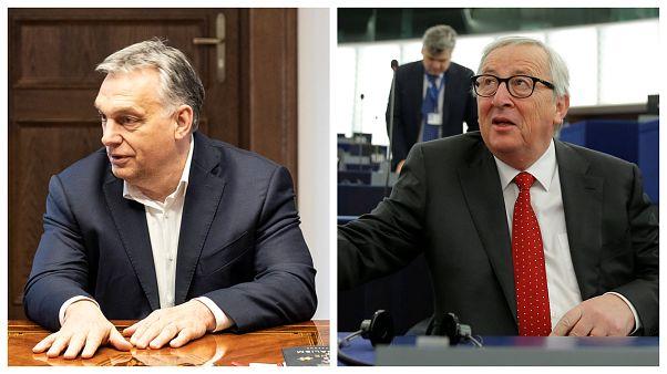 Orbán Marxot emlegetve szólt vissza Junckernek