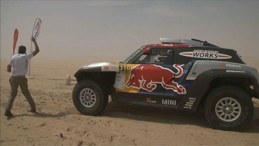 Mini domina rali Desafio do Deserto