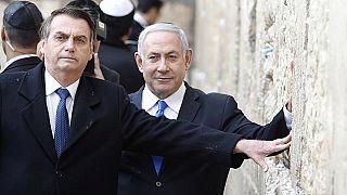 Gerusalemme: Bolsonaro e Netanyahu insieme al Muro del Pianto