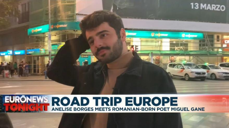 Road Trip Europe: Romanian-born poet Miguel Gane reflects on European identity