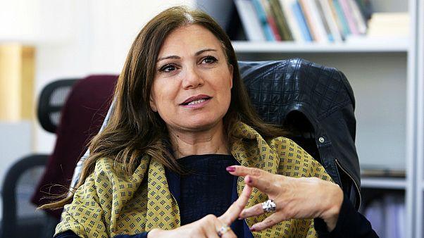 الإعلامية اللبنانية جيزيل خوري