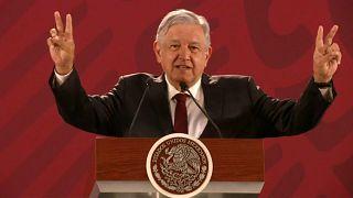 López Obrador quiere 'paz y amor' con EEUU