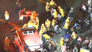 لوس أنجلوس: إصابة 6 أشخاص بجروح أثناء تأبين مغني الراب هاسل