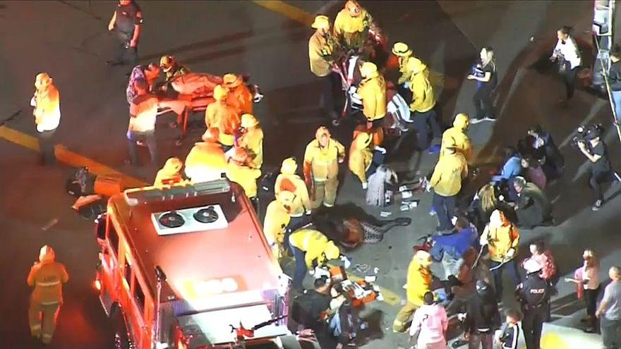 Varios heridos en un oscuro incidente durante la vigilia por el rapero Nipsey Hussle