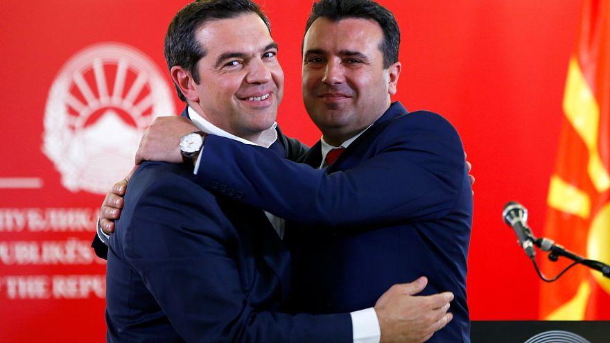 Α.Τσίπρας: Σημαντική μέρα για τα Βαλκάνια - Ζ. Ζάεφ: Γράφουμε συνεχώς ιστορία με την Ελλάδα
