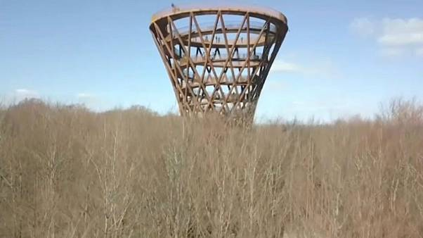 Sustainable 45-metre observation towers opens in Denmark