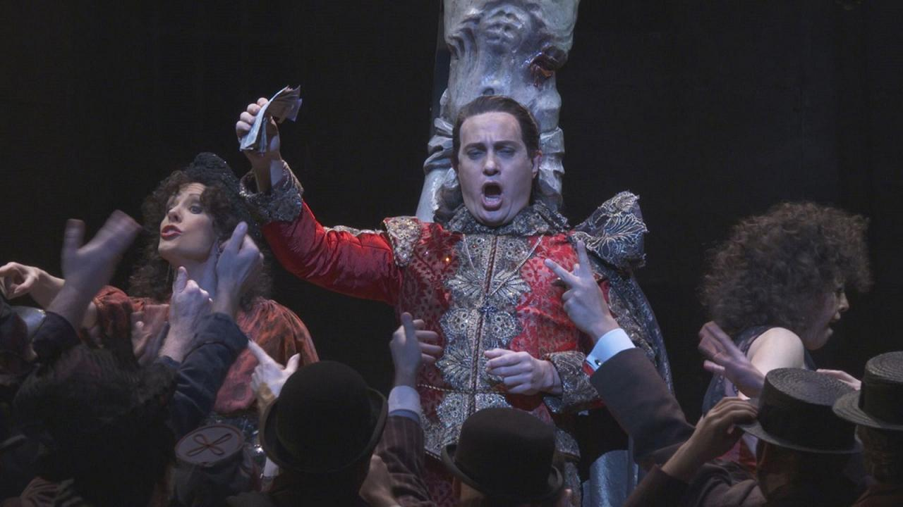 Drama and excess in London with a devilishly good 'Faust'