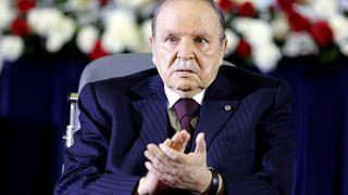 President Abdelaziz Bouteflika,  April 28, 2014