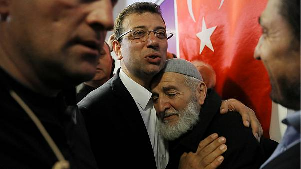 Ekrem Imamoglu, main opposition CHP candidate for mayor of Istanbul