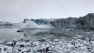 Islande, quand un glacier se délite