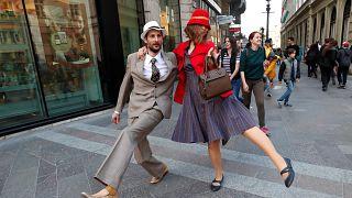 «پیادهروی احمقانه» مجارستانیها در بوداپست