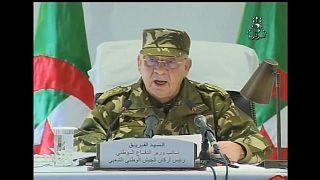 رئيس أركان الجيش الوطني الشعبي الفريق قايد صالح