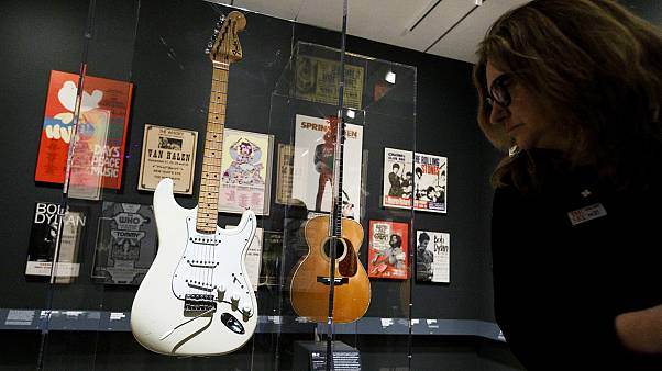 """Play it Loud"", une expo sur le rock sans fausse note"