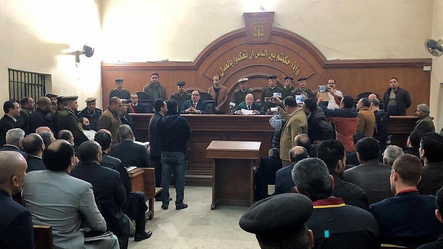 صورة أرشيفية لمحكمة مصرية