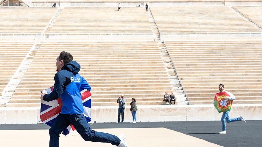 Ολυμπιονίκες πέταξαν χαρταετούς στο Παναθηναϊκό Στάδιο