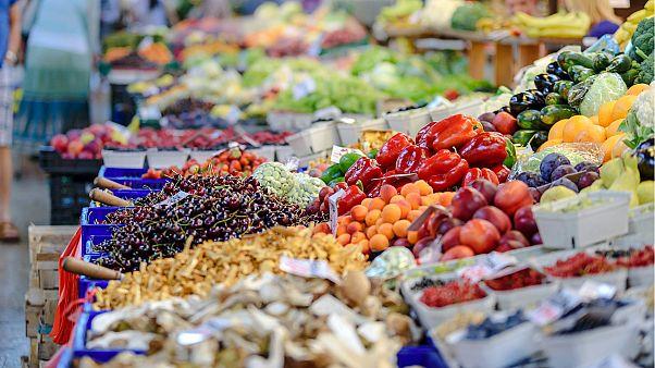 Кто в Европе ест больше овощей и фруктов?