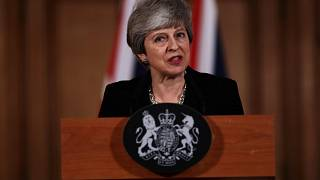 Theresa May faz declaração
