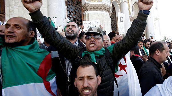الجزائريون يأملون في بناء دولة القانون بعد استقالة بوتفليقة