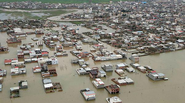 خرابی زیرساختها در ایران پس از سیل و پیش از رسیدن سامانه جدید بارشی