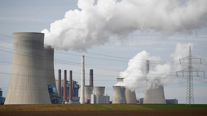 President receives Germany's 'last piece of coal' in symbolic pledge to keep climate promise