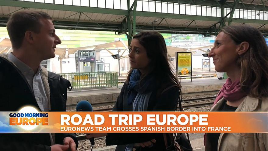 Euronews' road trip will span from Portugal to Belgium