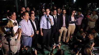 Felfüggesztették Guaidó mentességét