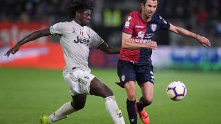 Juventus teen star Moise Kean suffers racist abuse but team mate says blame is '50'/50'