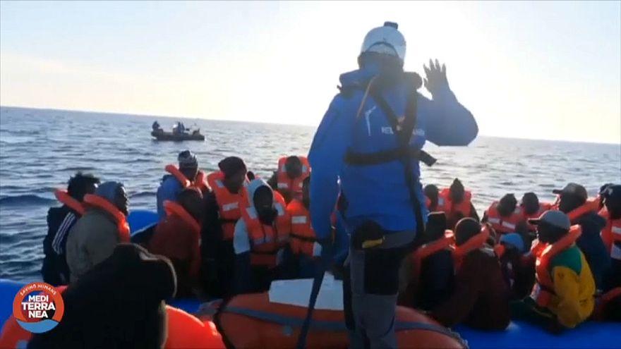 """250 NGOs schreiben Brief an Merkel: """"Sterben im Mittelmeer verhindern"""""""