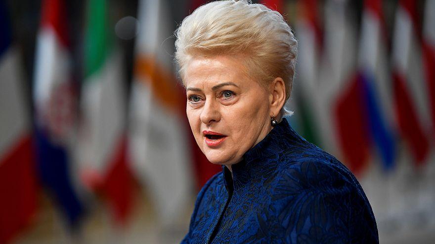 Gobierno cien por cien masculino en Lituania
