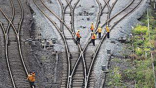 Mehrere Sabotage-Versuche: Brexit-Protestler versuchen Bahnverkehr zu stören