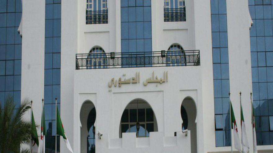 المجلس الدستوري الجزائري