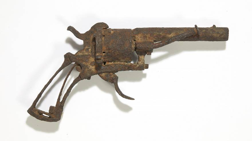 Gun that killed Van Gogh to be sold at auction in Paris on June 19