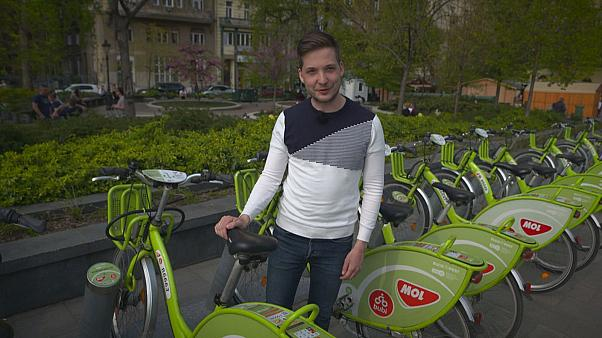 Bubi bikes in Budapest: Hungary aims to become cycle-friendly