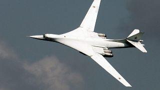 The Russian Tupolev Tu-160 bomber