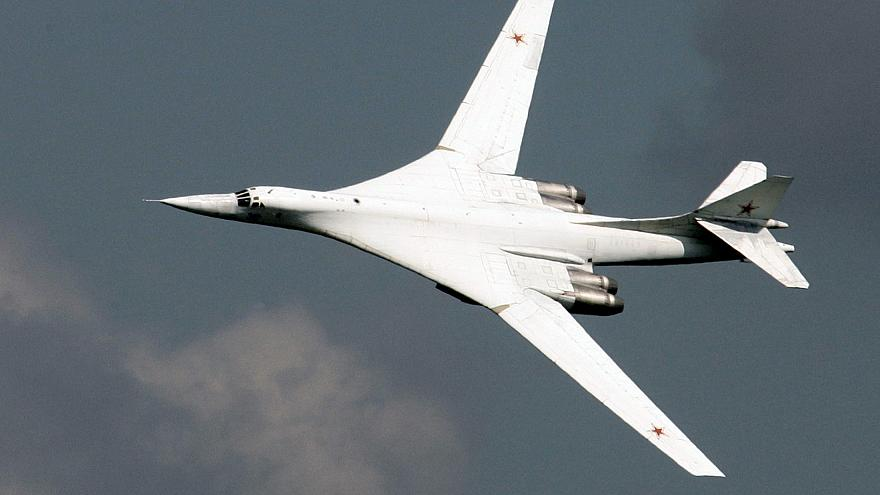 The Russian Tupolev Tu-160 bomber