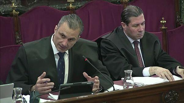 Javier Ortega Smith en la acusación popular del juicio del 'procés'
