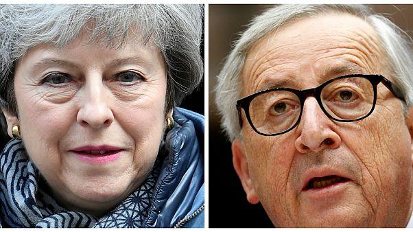 """Junker diz a May que """"não há adiamento sem acordo do parlamento"""""""
