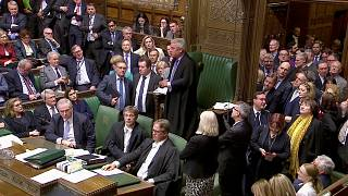 MPs in the UK parliament.