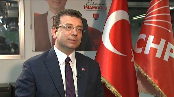 O Εκρέμ Ιμάμογλου στο euronews