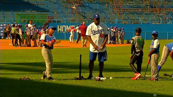 Kubai baseball játékosok az USA-ban