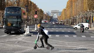 Paris to tackle electric scooter craze with fines for riding on pavements