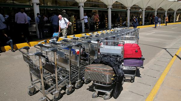 Fire disrupts one terminal at Kenya's main airport in Nairobi