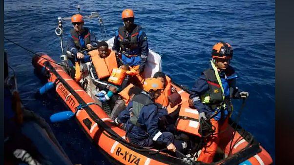 Μεσόγειος: Διάσωση 64 μεταναστών ανοιχτά της Λιβύης