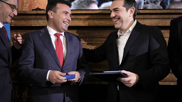 Νόμπελ Ειρήνης: 33 ευρωβουλευτές προτείνουν Τσίπρα-Ζάεφ