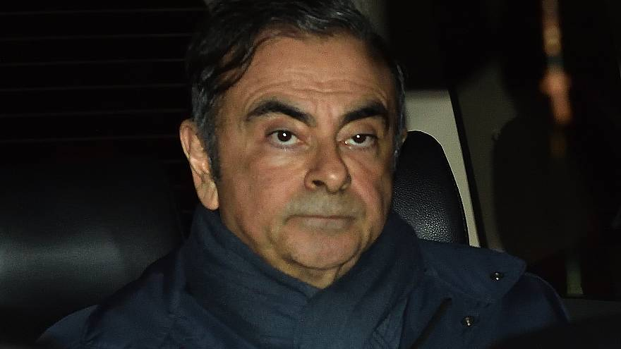 Nissan eski CEO'su Ghosn yeniden gözaltında