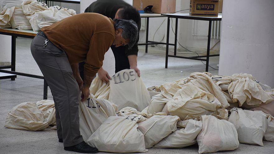 Giresun'da yeniden oy sayım işlemi tamamlandı