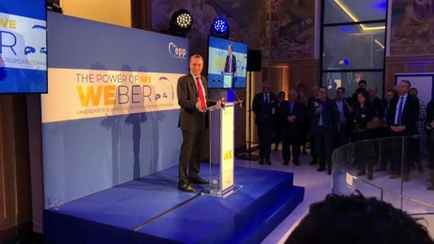 Weber lancia la sua campagna per le elezioni europee