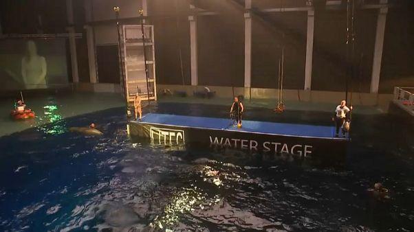 Inaugurado estúdio de cinema aquático na Bélgica