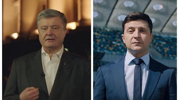 Ucrania: Poroshenko acepta el reto de debatir en el estadio de Kiev con Volodymyr Zelensky