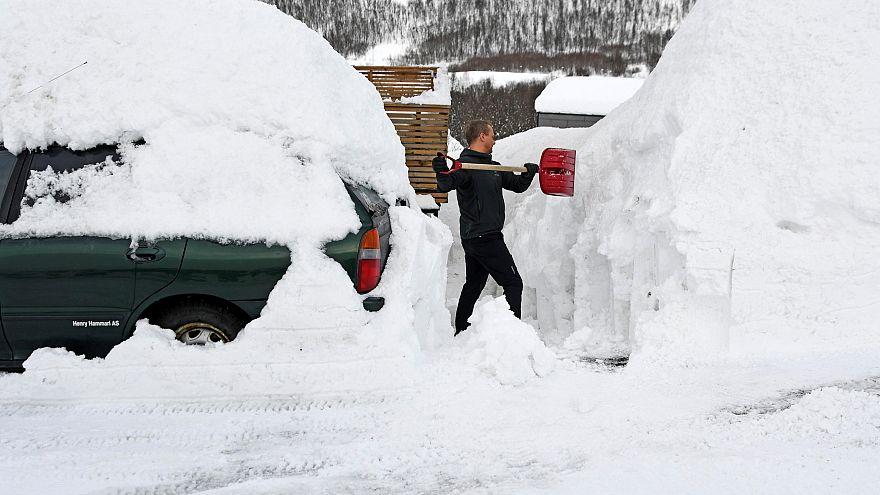 Le retour de la neige en Europe